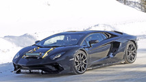New Lamborghini Aventador version spy photo