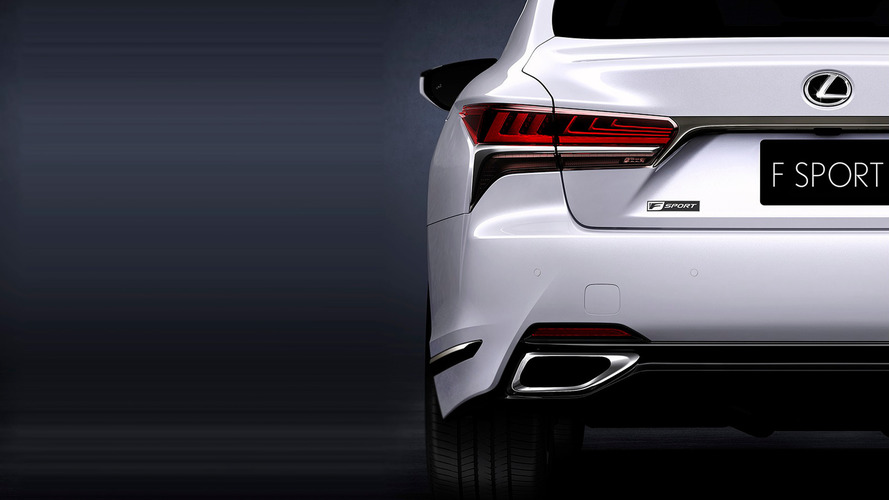Lexus LS 500 F Sport Teased For Global Debut In New York