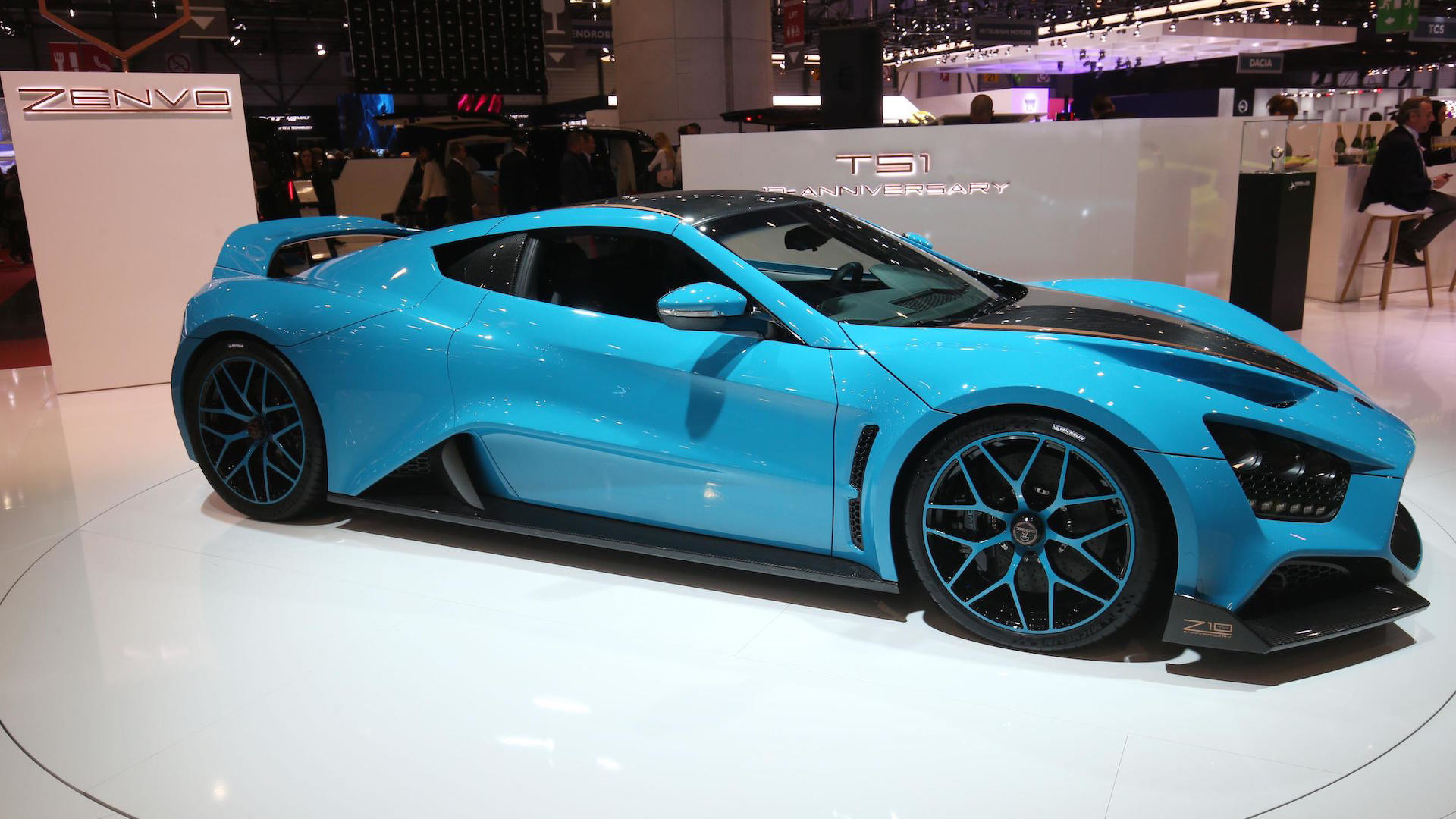 Zenvo Gt Has Hp Costs Million And Is Very Blue
