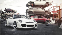 Porsche 911 Turbo Cabriolet with ADV.1 wheels, 1024, 23.12.2011
