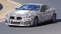 BMW M8, 8 Series M Package Spy Photos At The Nurburgring