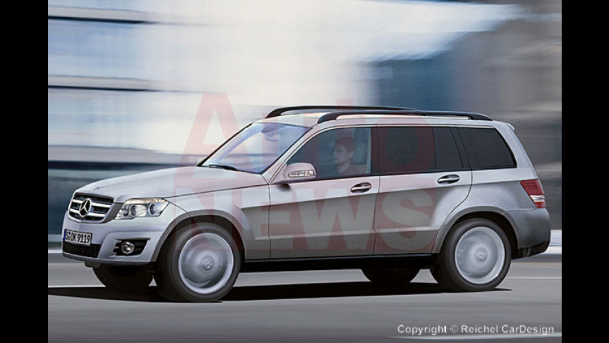 Hohes C: Der Mercedes GLK kommt als Bindeglied