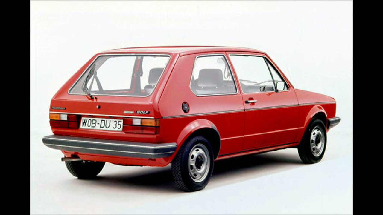 VW Golf I Formel E, Baujahr: 1981