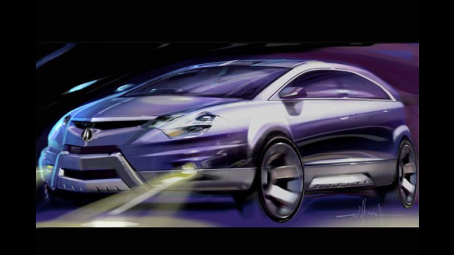 Sportlich, praktisch und edel: Konzeptfahrzeug Acura RD-X
