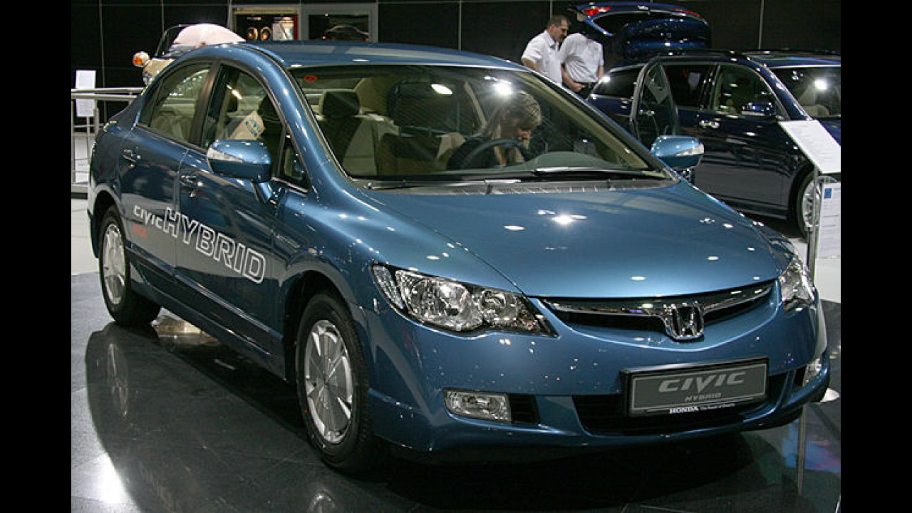 Honda Civic 1.3i DSi Hybrid