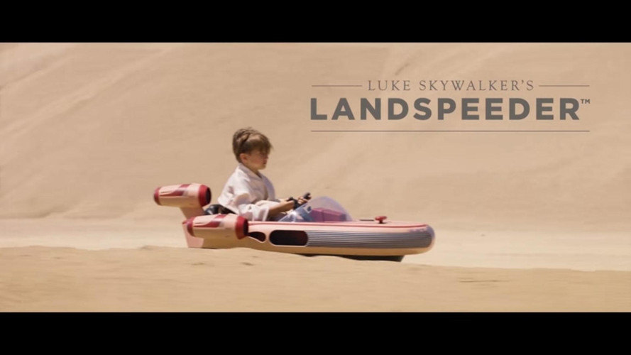 Radio Flyer Star Wars Landspeeder Makes Us Want To Be a Kid Again
