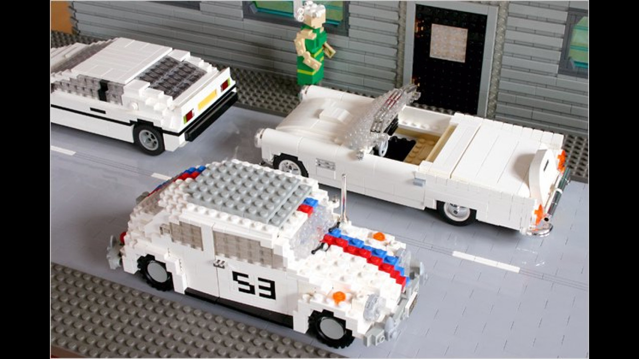 Herbie, James Bond und Ford Thunderbird