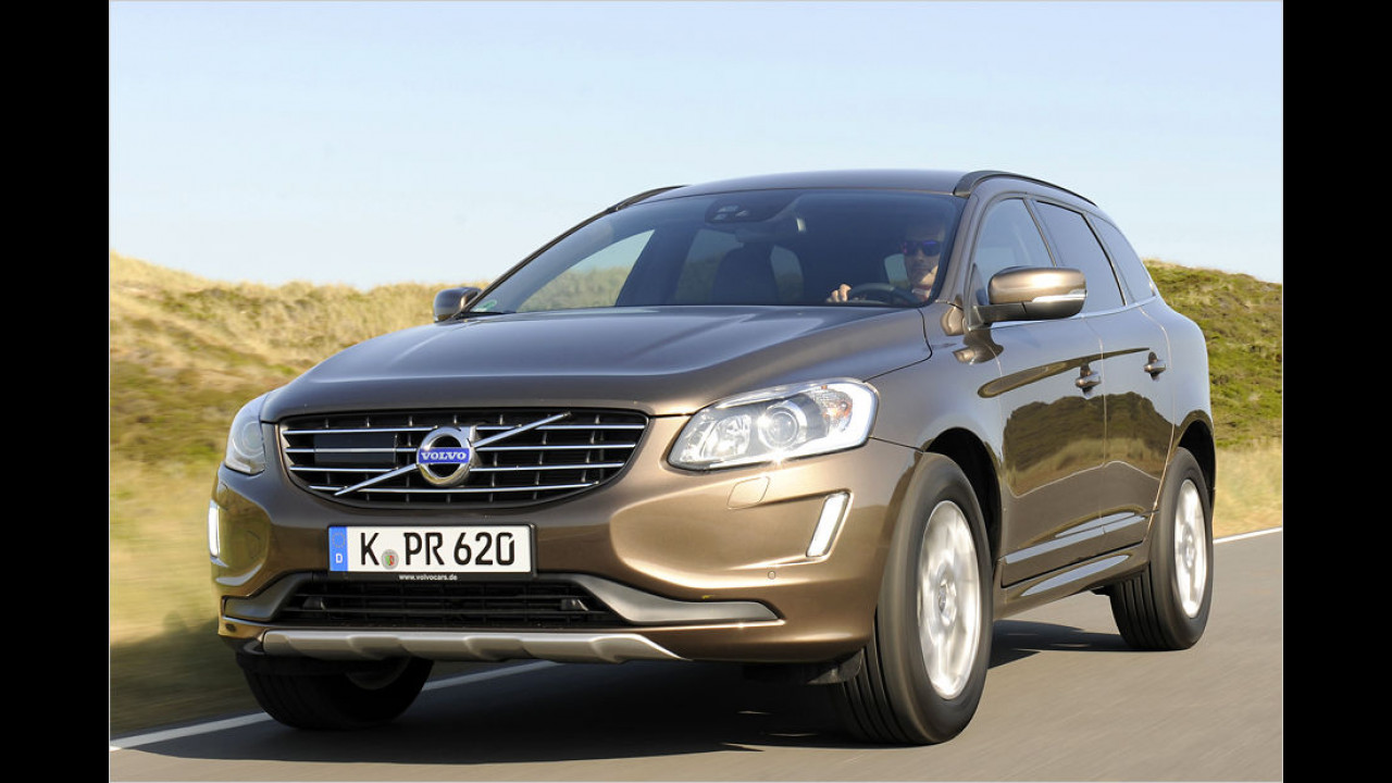 Volvo XC60 T5 Kinetic Geartronic (245 PS): 21,8 Prozent