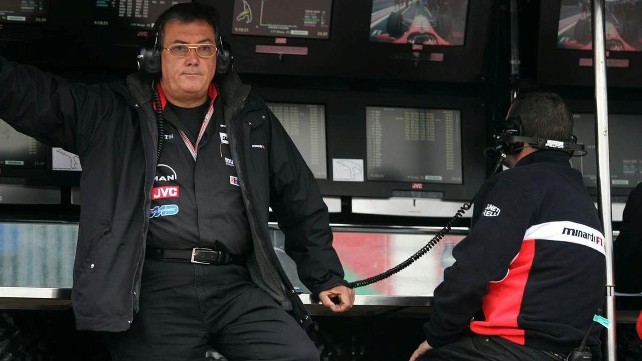 Gian Carlo Minardi (ITA) - September, Belgian Grand Prix, Saturday Practice, 10.09.2005 Spa Francorchamps, Belgium