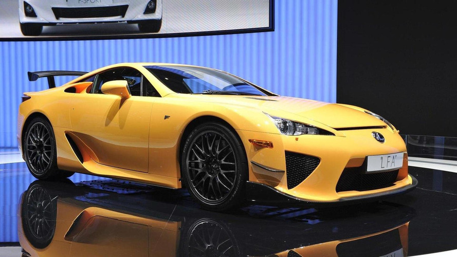 Lexus Open To The Idea Of LFA Successor