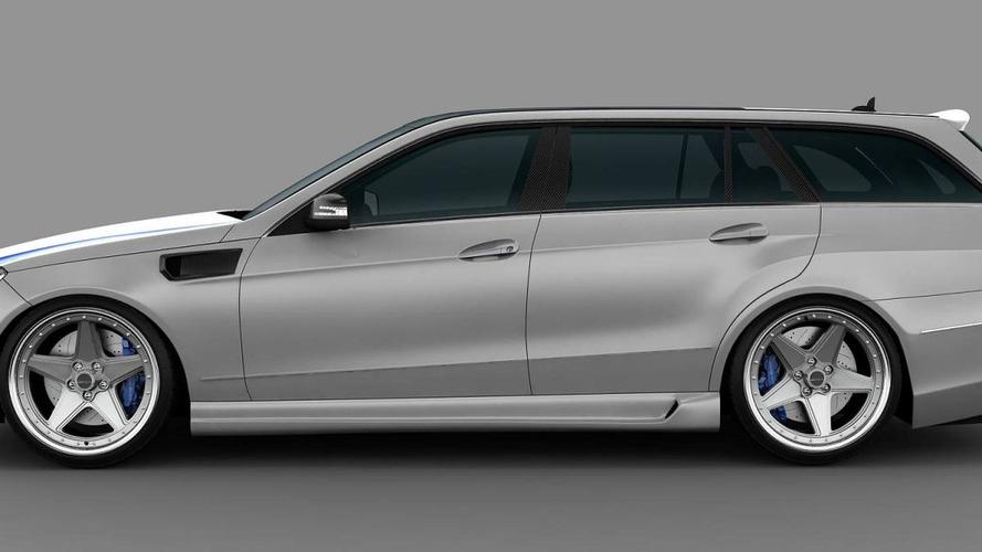 2011 Mercedes E63 AMG Wagon by GWA-Tuning