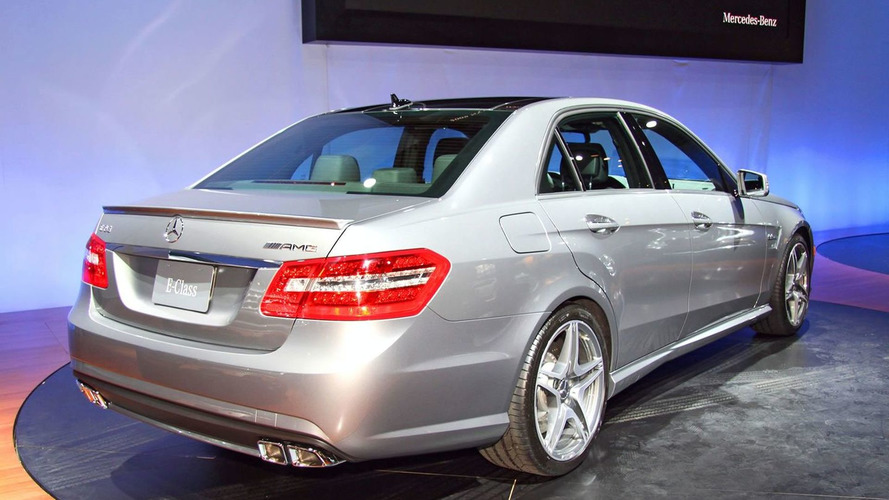 2010 Mercedes E63 AMG World Debut at New York Auto Show