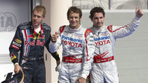 Toyota locks out Bahrain front row