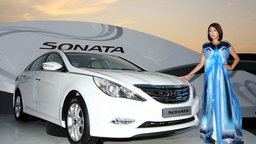 2011 Hyundai Sonata Officially Unveiled in Korea
