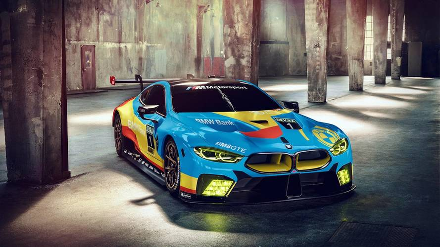 BMW M8 Digitally Decked Out In Art Car Livery