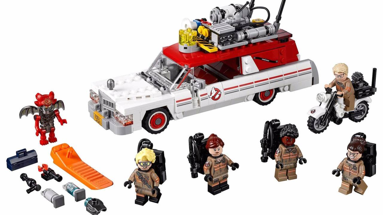 Ghostbusters Ecto-1 And Ecto-2