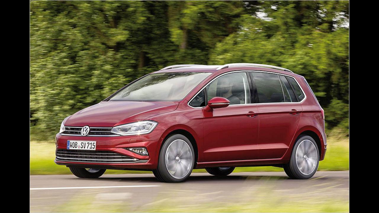 Der beste Van: VW Golf Sportsvan
