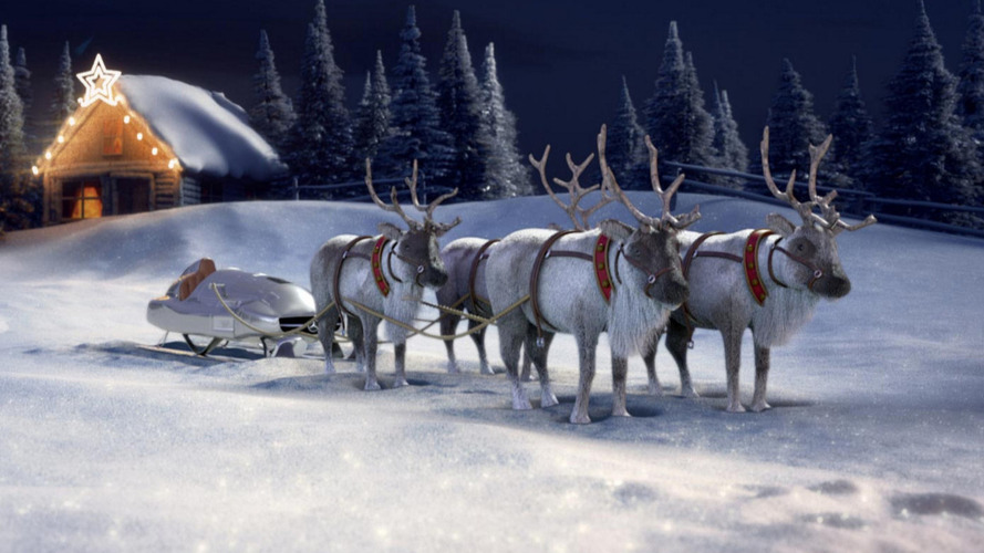 Mercedes launches Santa sleigh configurator