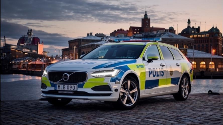 La Volvo V90 è pronta a combattere il crimine