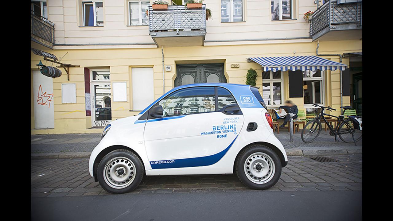 Car2Go, a settembre arriva la nuova smart fortwo