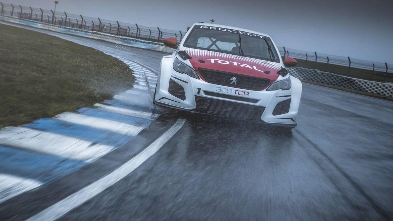 2018 Peugeot 308 TCR