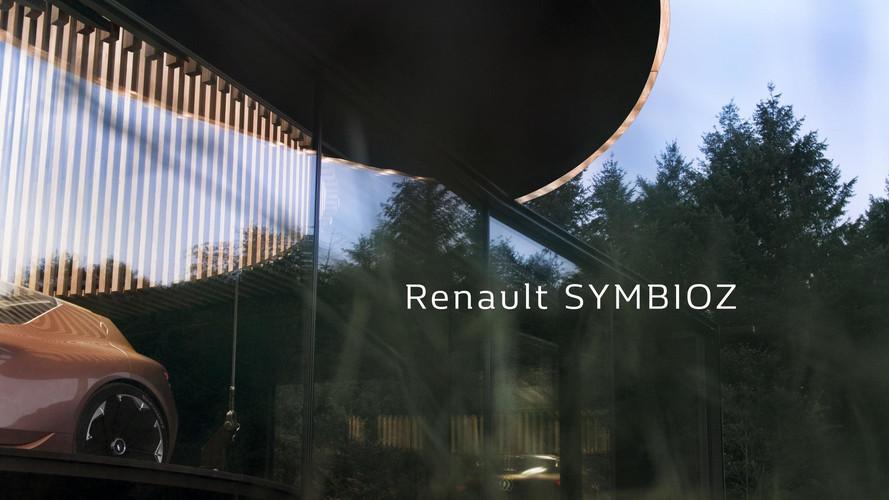 Renault Symbioz Teaser Previews Autonomous Electric Concept