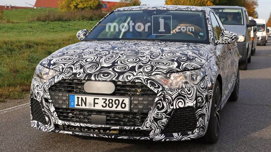 Next-generation Audi A1 spotted on test