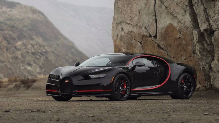 une bugatti chiron adjug e 3 8 millions de dollars. Black Bedroom Furniture Sets. Home Design Ideas