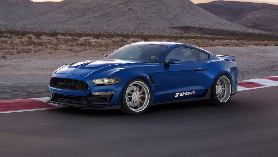 Shelby 1000 Is A Track-Only Mustang Loaded With 1,000 HP