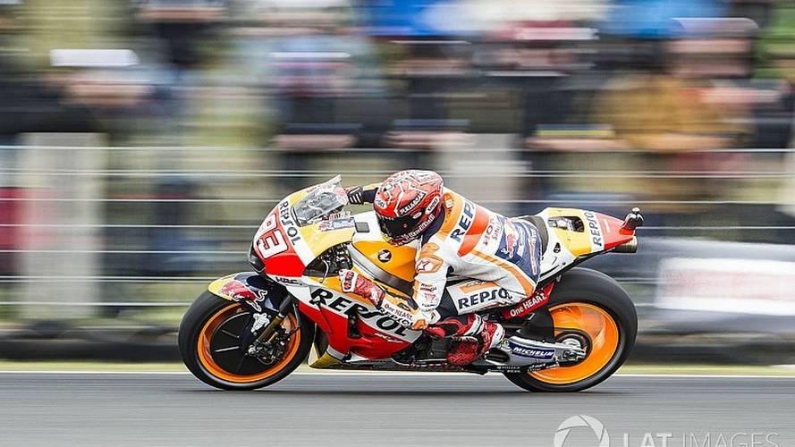 MotoGP - Márquez triunfa em bela corrida na Austrália; Dovi é 13º