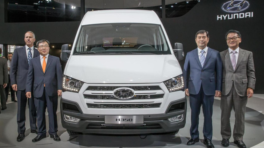 Hyundai H350 unveiled in Hannover