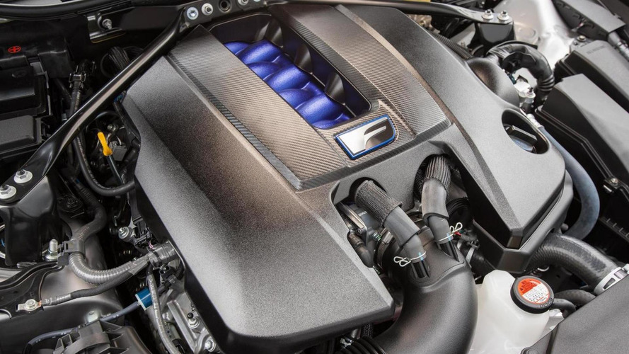 Lexus RC F 5.0 V8 engine detailed, generates 471 bhp