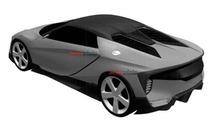 Honda/Acura sportscar patent design