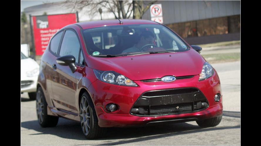 Erwischt: Ford rüstet den Fiesta auf