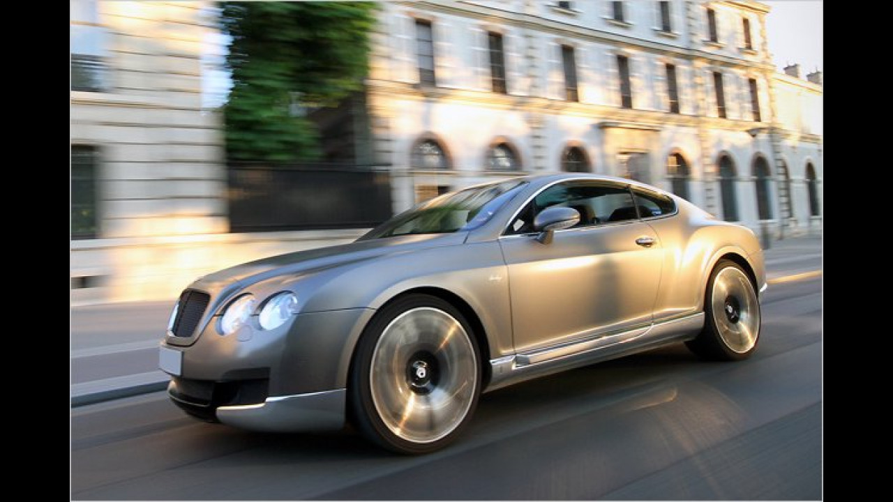 Carface Bentley Continental GT Heritage