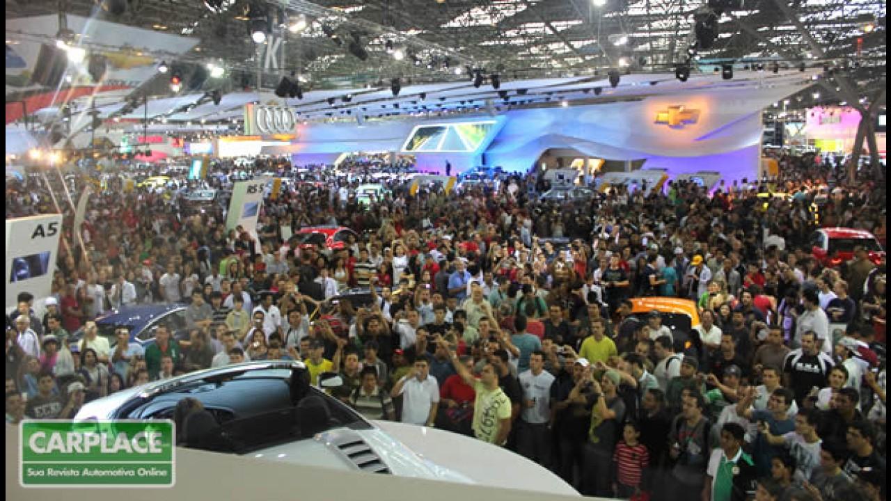 Primeiro lote de ingressos para o Salão do Automóvel de São Paulo já está à venda