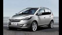 JAC Motors apresentará reestilização da minivan J6 no Salão de Pequim