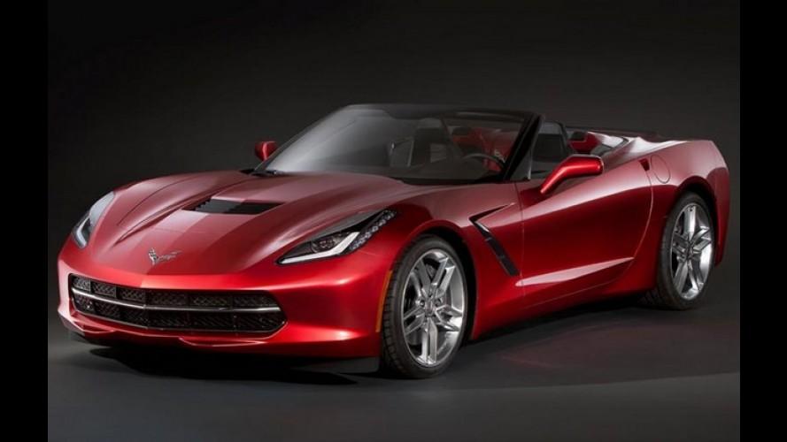 Chevrolet Corvette Stingray C7 Cabrio será atração no Salão de Genebra