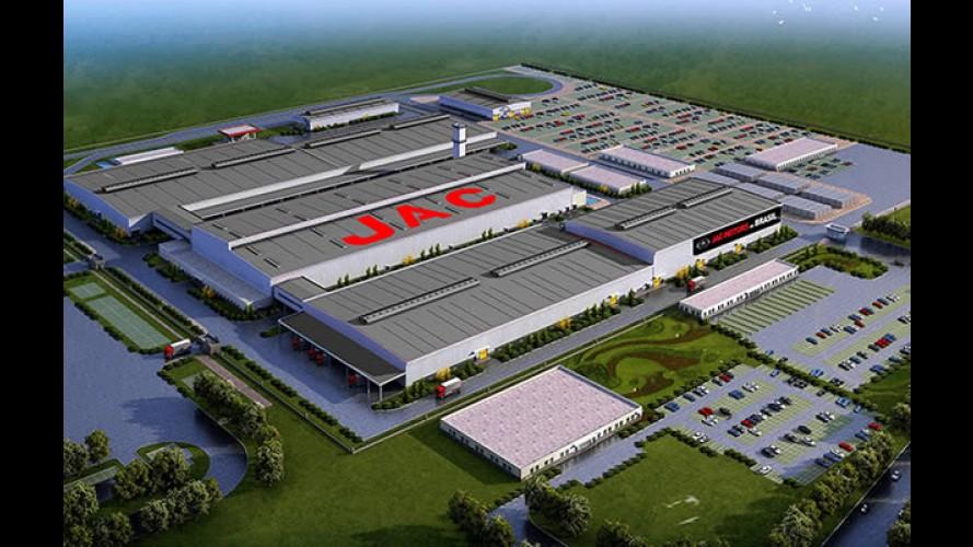 JAC Motors nega mudança de sua fábrica da Bahia para o Rio de Janeiro