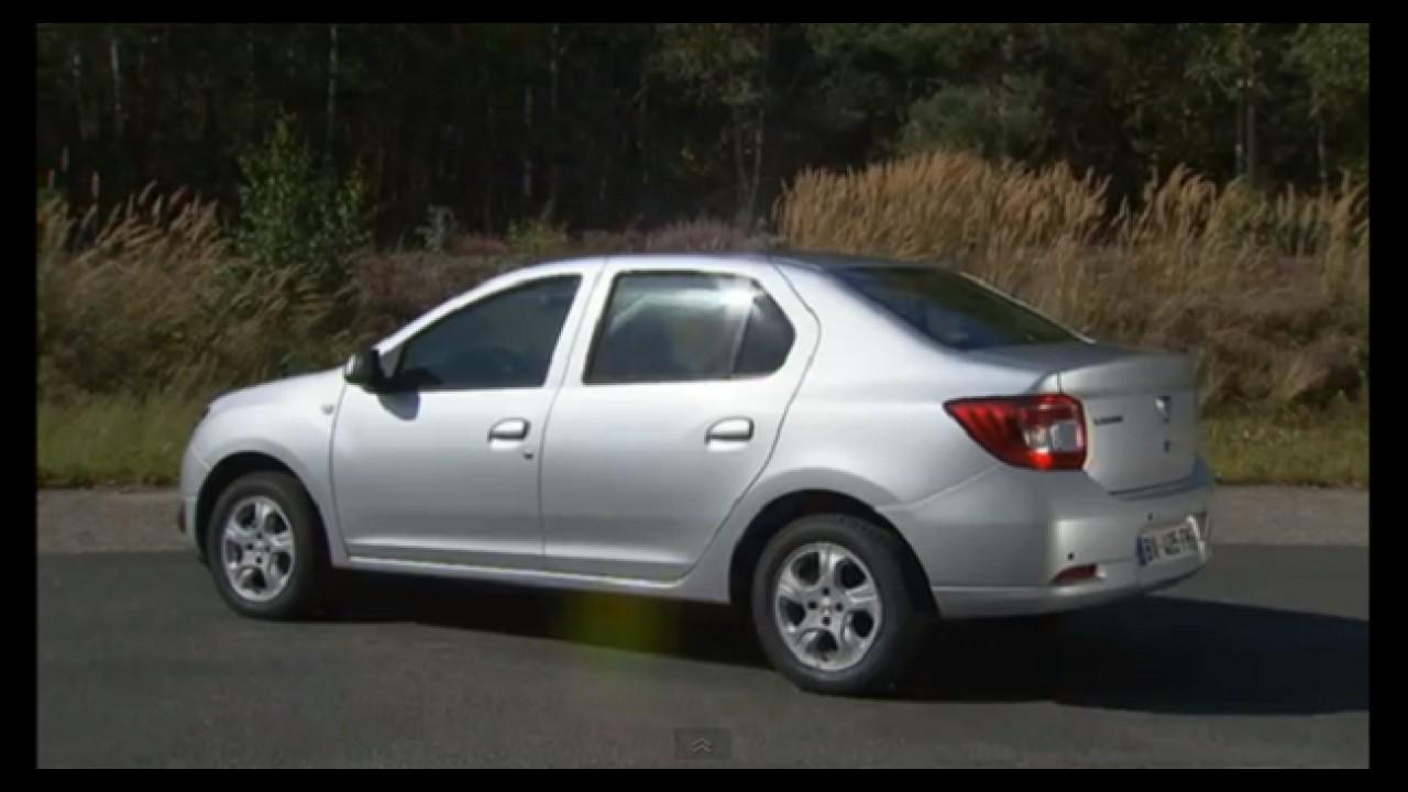 VÍDEOS: Novos Dacia Logan e Sandero em detalhes