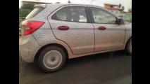 Flagra: em testes finais, novo Ford Ka 2015 roda com poucos disfarces