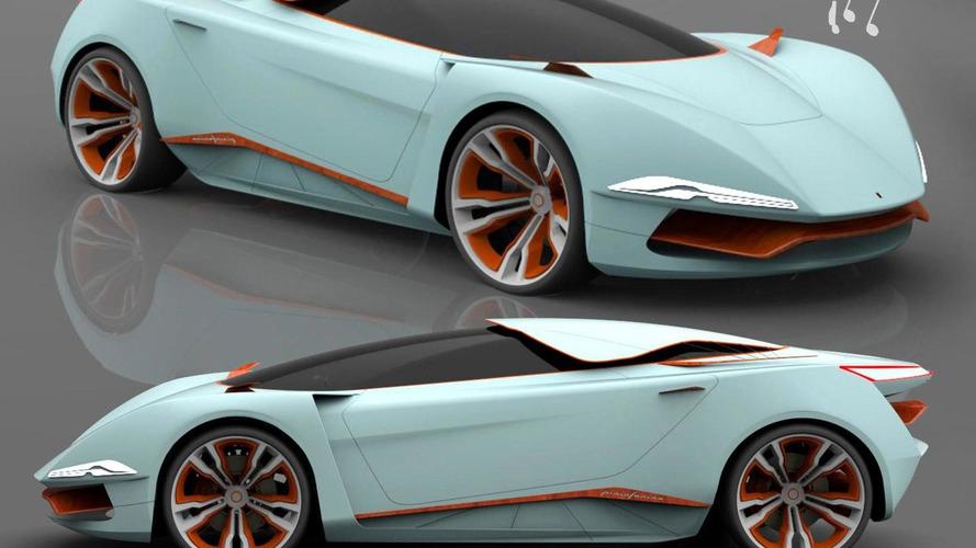 Pininfarina Chords Concept rendered