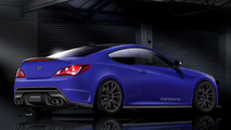 Hyundai Genesis Coupe by Cosworth