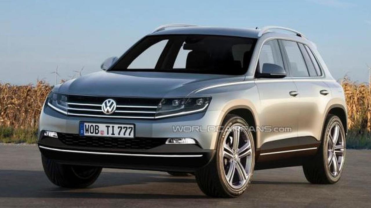 Volkswagen Tiguan 2014 speculative rendering, 950, 31.05.2012