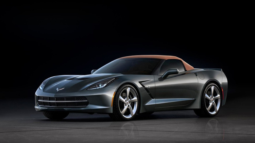 [REAR VIEW PHOTOS ADDED] 2014 Chevrolet Corvette Stingray Convertible spotted