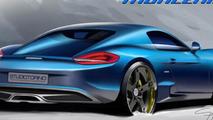 StudioTorino Moncenisio announced, based on the Porsche Cayman S