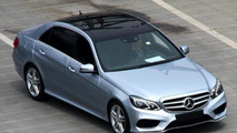 2013 Mercedes-Benz E-L seen before Auto Shanghai debut tomorrow