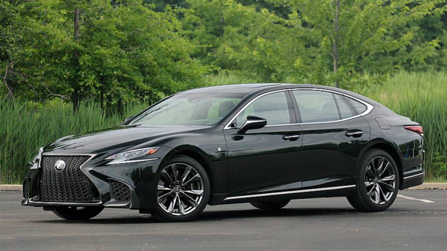 2018 Lexus LF 500 F Sport: Review