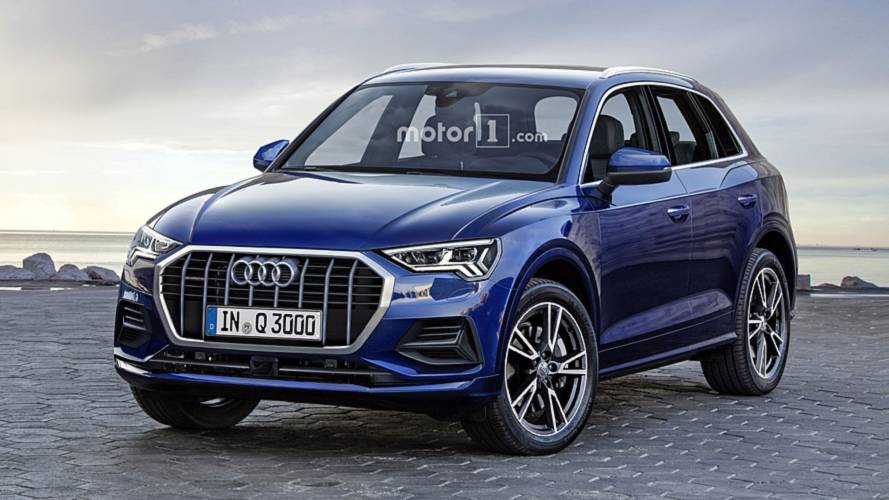 No More Camo: 2019 Audi Q3 Rendered In Production Form