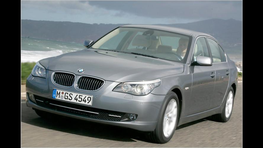 BMW poliert die Mittelklasse: Kleiner Feinschliff für den 5er